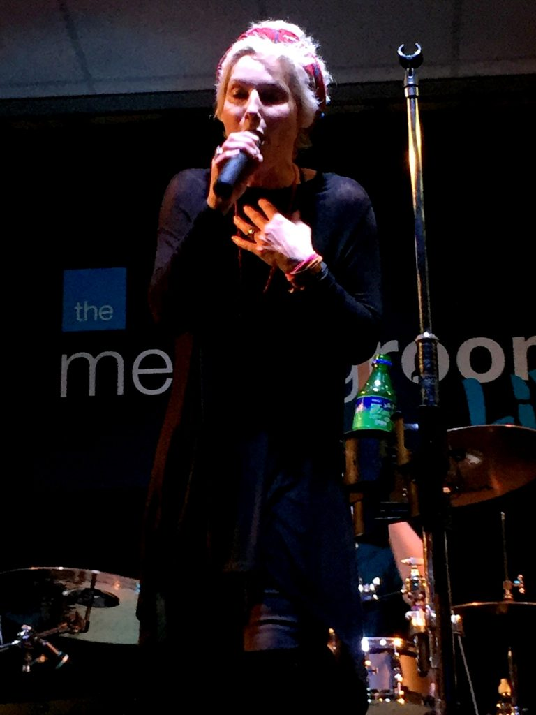 Lorna on vocals for Northsyde