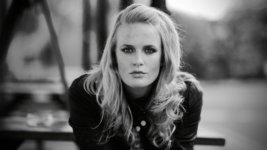 Elles Bailey Blues Roots Musician in BW photo
