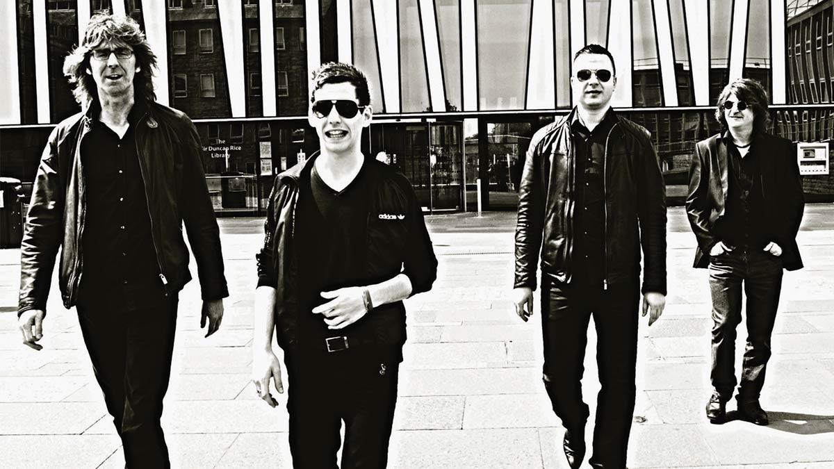 Gerry Jablonski Band walking in city